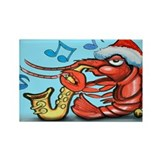 Unique Crawdad Rectangle Magnet (10 pack)