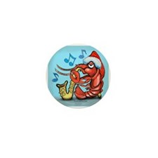 Cute Crawfish Mini Button (10 pack)