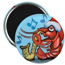 "Unique Crawfish 2.25"" Magnet (10 pack)"