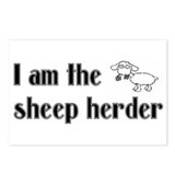 I Am The Sheep Herder Postcards (Package of 8)