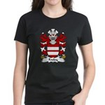 Foxley Family Crest Women's Dark T-Shirt