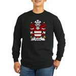 Foxley Family Crest Long Sleeve Dark T-Shirt