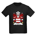 Foxley Family Crest Kids Dark T-Shirt