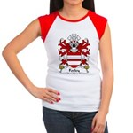 Foxley Family Crest Women's Cap Sleeve T-Shirt