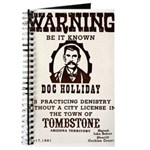Doc Holliday Journal