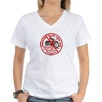 Fallen Angel Women's V-Neck T-Shirt