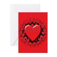 naughty Greeting Cards (Pk of 20)