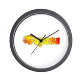 Guyana is hot Wall Clock