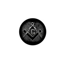"Masonic ""G"" symbol Mini Button"