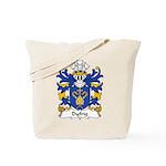 Dyfrig Family Crest Tote Bag