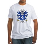 Dwnn Family Crest Fitted T-Shirt