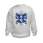 Dwnn Family Crest Kids Sweatshirt