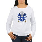 Dwnn Family Crest Women's Long Sleeve T-Shirt