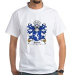 Dwnn Family Crest White T-Shirt