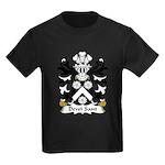 Dewi Sant Family Crest Kids Dark T-Shirt