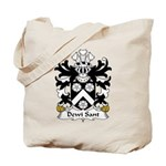 Dewi Sant Family Crest Tote Bag
