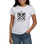 Dewi Sant Family Crest Women's T-Shirt