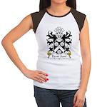 Dewi Sant Family Crest Women's Cap Sleeve T-Shirt