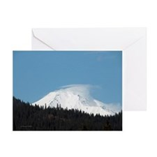 Mt. Shasta Greeting Card