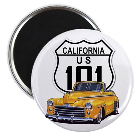 California Classic Car Magnet