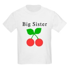 Big Sister Cherries T-Shirt
