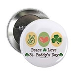 Peace Love St Paddy's Day 2.25