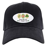 Peace Love St Paddy's Day Black Cap
