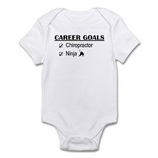 Chiropractor Career Goals Infant Bodysuit
