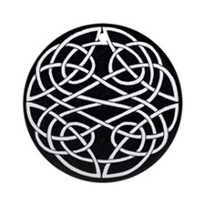 Celtic Knot 2 Part Circle Ornament (Round)