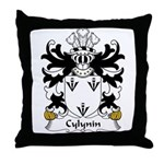 Cylynin Family Crest Throw Pillow
