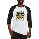 Cuny Family Crest Baseball Jersey