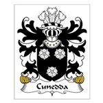 Cunedda Family Crest Small Poster