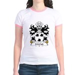 Cowryd Family Crest Jr. Ringer T-Shirt
