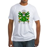 Coll Family Crest Fitted T-Shirt