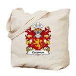 Coedmor Family Crest Tote Bag