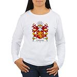 Coedmor Family Crest Women's Long Sleeve T-Shirt