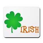 Irish Shamrock Mousepad