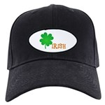 Irish Shamrock Black Cap