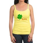 Irish Shamrock Jr. Spaghetti Tank