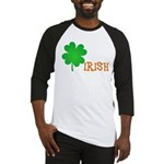 Irish Shamrock Baseball Jersey