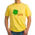 Irish Shamrock Yellow T-Shirt