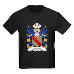 Clifford Family Crest Kids Dark T-Shirt