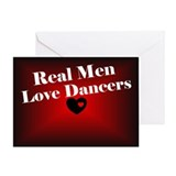Love Dancers Valentine Greeting Card