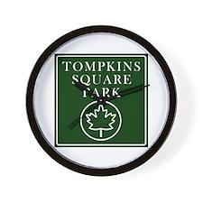 Tompkins Square Park Wall Clock