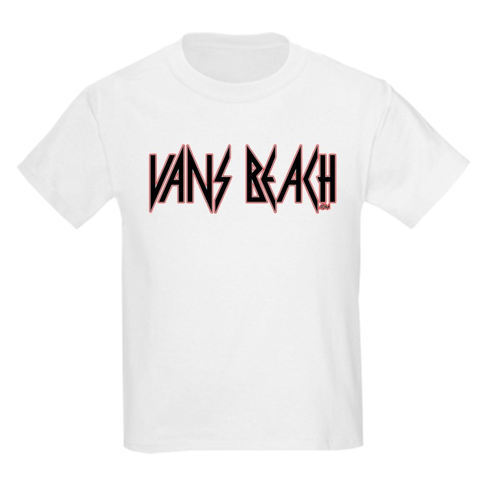 Vans Beach  Vintage 80s Rock T Shirt