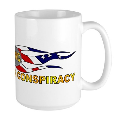 Vast Right Wing Conspiracy Large Mug