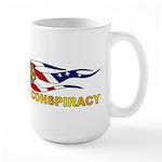 Vast Right Wing Conspiracy Large Mug