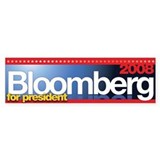 Mike Bloomberg for President (bumper sticker)