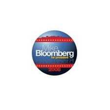 "Mike Bloomberg for President (small 1"" button)"