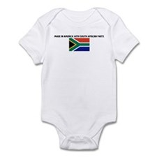 MADE IN AMERICA WITH SOUTH AF Infant Bodysuit